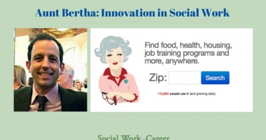 Aunt Bertha Social Work Innovation