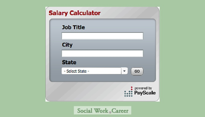 Social Work Salary Calculator  Salary Calculator