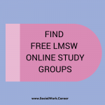 How to Find Free Online LMSW Exam Study Groups