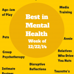 Best in Mental Health (week of 12/22/2014)