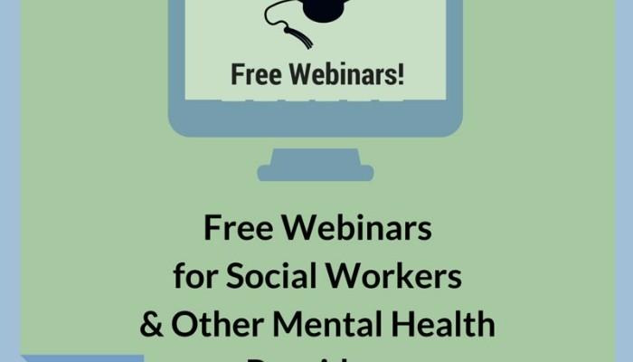 Free Webinars Social Workers