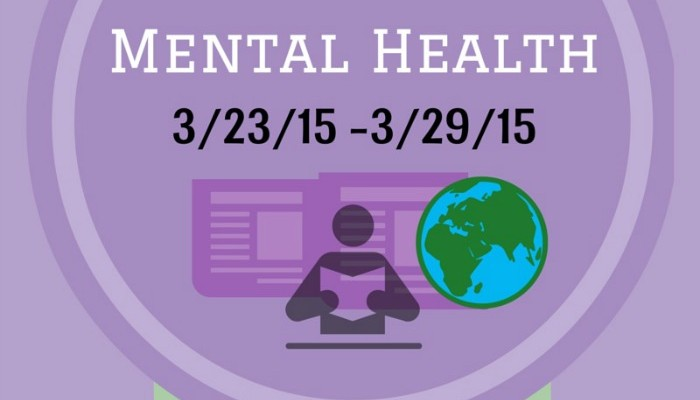 Best in Mental Health (week of 3/23/15)
