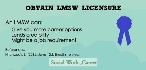 Obtain LMSW