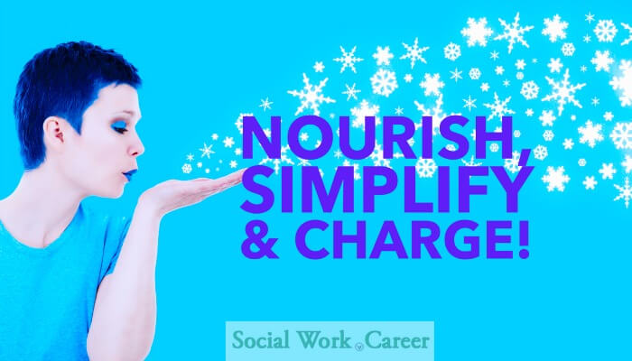 My Three Words for 2016: Nourish, Simplify and Charge!