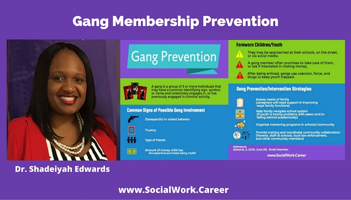 Gang membership prevention