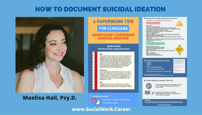 4 suicidal ideation notetaking tips