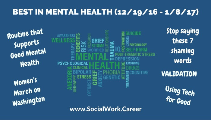 Best in Mental Health (12/19 - 1/8/17) < roundup from web covering latest in social work, mental health, private practice & more