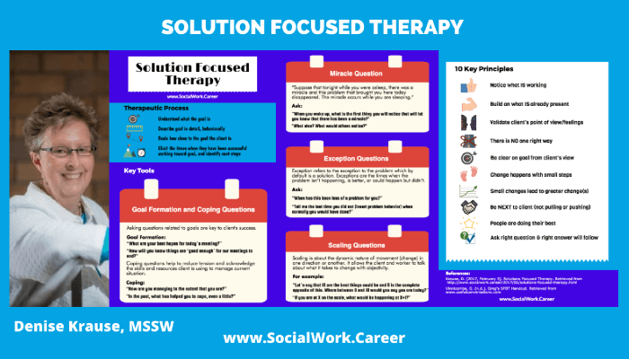 Solution Focused Therapy Key Principles And Case Example