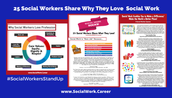 25 Social Workers Share Why They Love Social Work!