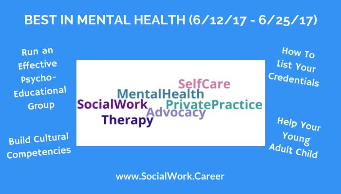 Best in Mental Health June 25 2017