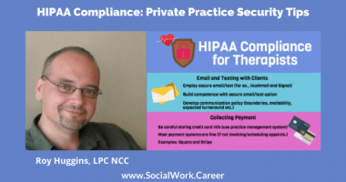 HIPAA Compliance: Private Practice Security Tips