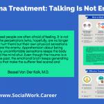 Trauma Treatment: Talking Is Not Enough