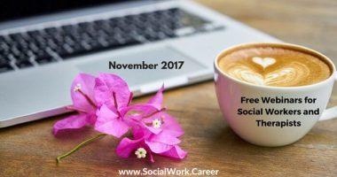 Free Mental Health Webinars, November 2017