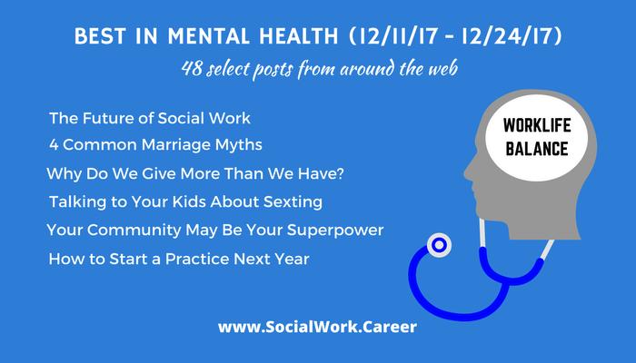 Best in Mental Health: Worklife Balance