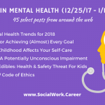 Best in Mental Health: 2018 Mental Health Trends