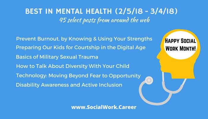 Health 2 Work.Best In Mental Health Happy Social Work Month Socialwork Career