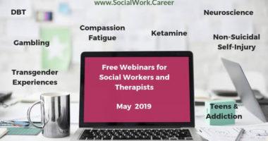 Free Webinars May 2019